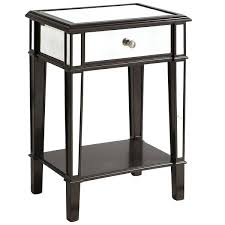 Pier 1 Mirrored Dresser by Hayworth Mirrored 2 Drawer Nightstand Silver Hayworth Mirror