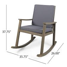 Amazon.com : Great Deal Furniture 304649 Caspar | Outdoor Acacia ... Semco Outdoor Rocking Chair White Displaying Photos Of Inexpensive Patio Chairs View 6 20 Vinyl Interactifideasnet Fniture Add Comfort And Style To Your Favorite With Jefferson Recycled Plastic Rocker Farmhouse Table 226646 At For Sale Pink Resin Brusjesblog Gallery Small 16 Folding Floor Best Home Decoration Awesome Plastics Taupe