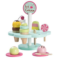 Wood Little Wooden Ice Cream Set AlexandAlexa
