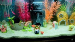 Spongebob Aquarium Decor Amazon by Best Complete Spongebob Theme Aquarium Spongebob Squarepants