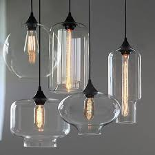new modern retro glass pendant ls kitchen bar cafe hanging