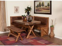 Sunny Designs Bench Long And Corner Back 0222RO BL
