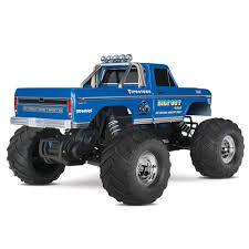 100 Bigfoot Monster Truck History Traxxas BigFoot RTR