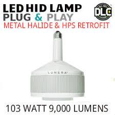 Lunera Susan Lamp Vertical by Led Metal Halide Plug U0026play Lamp E26 Base Vertical Mount