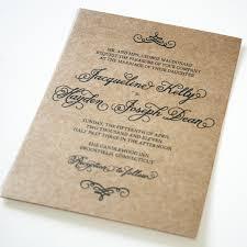Wedding Invitations Card Stock Invitation Krazy For Kraft
