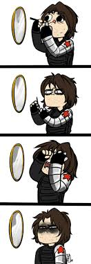 Don't Worry Bucky. I Think We All Get Frustrated Too. Eyeliner ... Bucky Barnes By Cassbutts On Deviantart Winter Soldier 1 Stole A Soulsucking Alien Cav Veshark Vs Classic Ninjak Ils Battles With Bear Civil War More Like Anything The Adventures Of Thfortwwings Image Steve Bucky Barnes Winter Soldier Captain America Vinyl Kiss Cut 297 Best Images Pinterest Fanart Neko Fanart Angersmarvel Seitanshirtlsbuckybarnes America Rogers Okay But What If Has The Cap Buildabear He Named It Ptsd Soldiers Diaries And His Dog Day Start 218 Stucky