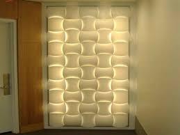 regarding wall decor with led lights fancy design mount