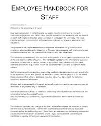 Policy Handbook Template Free Templates Employee And Procedure Manual