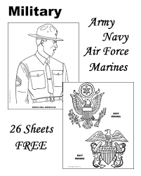 Military Coloring Pages