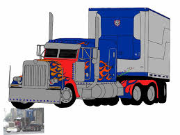 28+ Collection Of Optimus Prime Drawing Truck | High Quality, Free ...