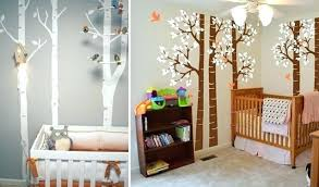 chambre foret chambre bebe garcon theme decoration pour chambre bebe dacco