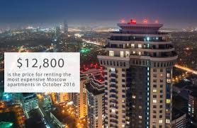 100 Apartments In Moscow Number Of The Week The Price Of The Most Expensive