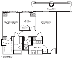 Bathroom Floor Plans With Washer And Dryer by Floor Plan C 870 Sq Ft The Towers On Park Lane