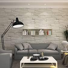 hanmero modern vliestapete chinesische steinoptik prägung mustertapete 0 53m 10m hell grau für fernsehhintergrund wohnzimmer schlafzimmer