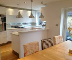 Best Floor For Kitchen Diner by The Raised Back On The Island Hides Kitchen Messes From The