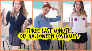 Rosie The Riveter Halloween Tutorial by 3 Diy Last Minute Halloween Costumes Regina George Clueless