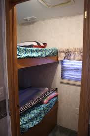 5th Wheel Campers With Bunk Beds by Inside Our 5th Wheel Rv U2013 Life In Our Rv With Kids