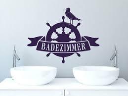 details zu wandtattoo wandaufkleber für badezimmer schriftzug badezimmer möwe
