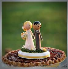 Custom Rustic Vintage Wedding Cake Topper Ideas