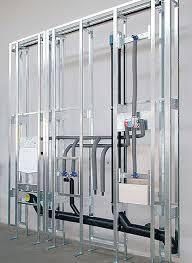 installationswand bad klempner für badezimmer badezimmer