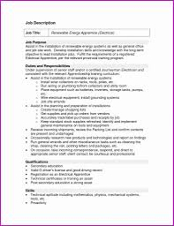 Driver Helper Resume Sample Best Of Inspirational Electrical Apprentice Journeyman