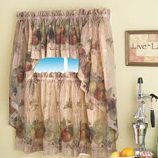 Kitchen Curtain Ideas With Blinds by Home Accessories Awesome Marburn Curtains With Bali Blinds And