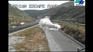 100 Runaway Truck Ramp Video Caltrans Video Demonstrates Need For Runaway Truck Ramp Abc7newscom
