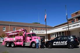 Pump Company Paints Truck Pink To Support Breast Cancer Awareness ... Fileconcrete Pumper Truck Denverjpg Wikimedia Commons China Sany 46m Truck Mounted Concrete Pump Dump Photos The Worlds Tallest Concrete Pump Put Scania In The Guinness Book Of Cement Clean Up Pumping Youtube F650 Pumper Trucks For Sale Equipment Precision Pumperjpg Boom Sizes Cc Services 24m Suppliers And Used 2005 Mack Mr 688s For Sale 1929 Animation Demstration