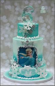 frozen disney cake eiskönigin geburtstagskuchen