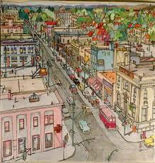 Cidades Fantasticas Adult ColoringColoring BooksColouring CityscapesBicycleDoodlesPencilCitiesColouring In