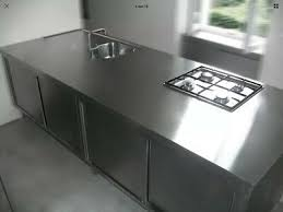 loft edelstahl küche design küchenblock gaggenau gasherd