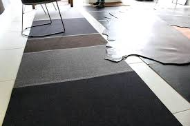 Leather Flooring Left Wool Felt Rug In Click To Buy Pros And Cons