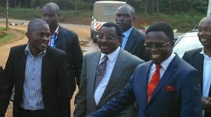 Alphonce Shiundu Of The Standard Newspaper Presented Himself At CID Headquarters On Kiambu Road Wednesday