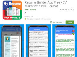 Free Resume Maker For Android | APK Download For Android Free Resume Builder Professional Cv Maker For Android Examples Online Why Should I Use A Advantages Disadvantages Best Create Perfect Now In 2019 Novorsum Ebook Descgar App Com Generate Few Minutes 10 Building Apps Last Updated November 14 Get Started