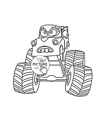 Kids Truck Monster Car Drawing Pictures | Www.picturesboss.com