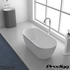 165cm DIVA Acrylic Bath Oval Shape By