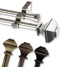 Jcpenney Umbra Curtain Rods by Double Curtain Rods Jcpenney