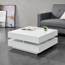 en casa couchtisch märsta wohnzimmertisch mit ablagefächern hochglanz weiß kaufen otto