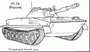 Good Tanks Coloring Pages Next Image With Tank And Truck