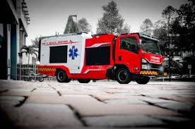 Debut Of Singapore's First Dual Function Fire Medical Vehicle - Fire ...