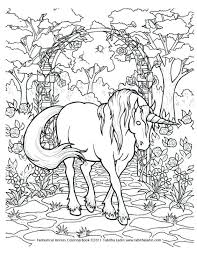 Dragon Coloring Pages For Adults Printable Pdf Free Only Unicorn Page