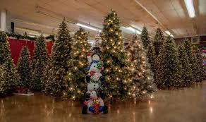Quality Pre Lit Christmas Trees Up To 14 Feet Tall Are One Of Their Specialties