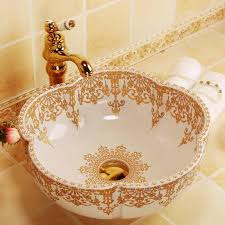 marokko stil blume form gold dekoration keramik porzellan