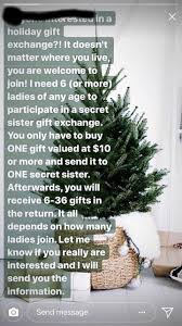 don t fall for the secret sister gift exchange it s totally
