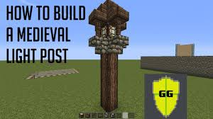 Minecraft Glowstone Lamp Post by Lamp In Minecraft Instalamp Us