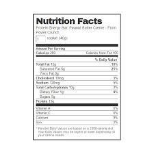 Power Crunch Original Peanut Butter Cream Protein Bars 14 Oz Bags