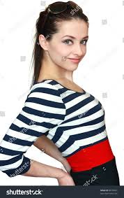 happy teen girl casual modern dress stock photo 98795861