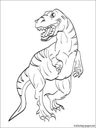 Velociraptor Coloring Page For Free