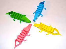 Diy Paper Crafts Craft For Kids Crocodiles PAPER CRAFTS FOR KIDS
