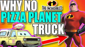 100 Pizza Planet Truck Incredibles Why The Is The Only Pixar Movie Withot The